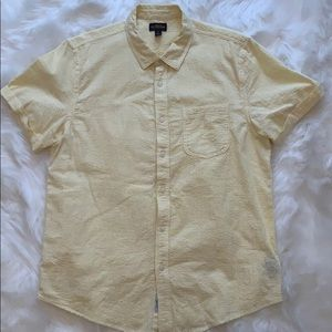 CPO Provisions(UO) Yellow seersucker button down
